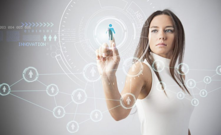 Woman in technology