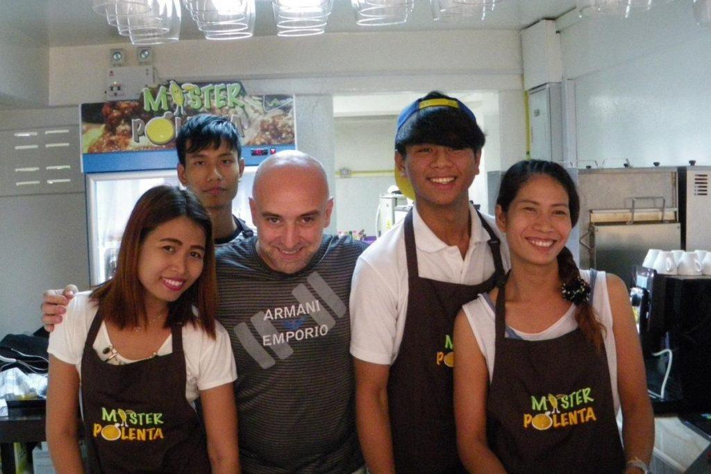 Mister polenta in Thailandia